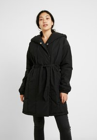 PIECES Tall - PCEMILIE LONG ACKET - Parka - black - 0