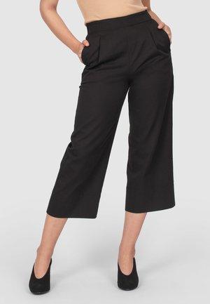 LOUNGE - Trousers - dark brown
