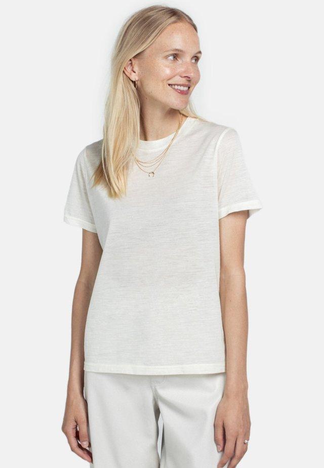 T-shirts basic - cream