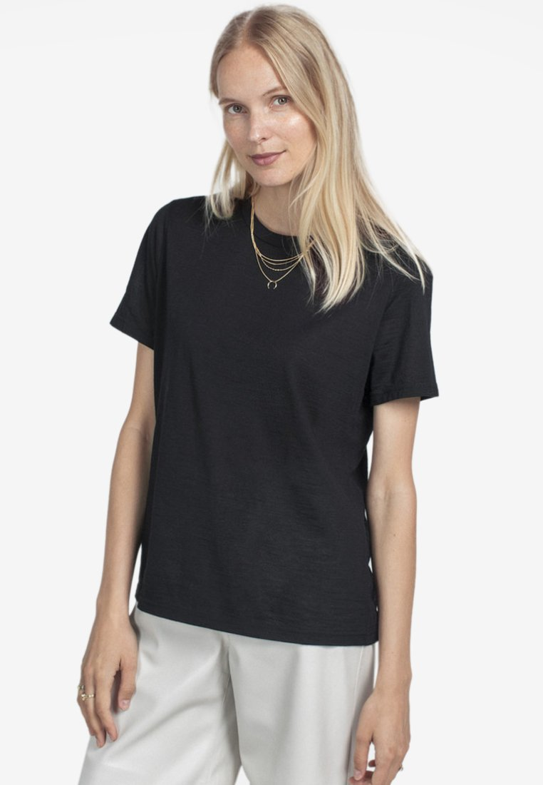 Pierre Robert - T-shirt basique - black