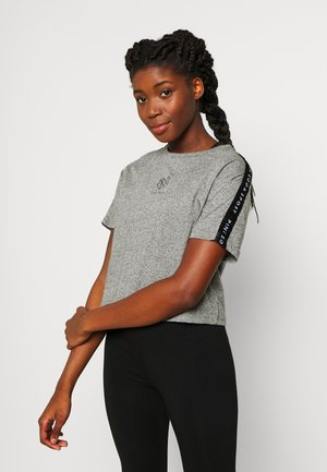 BILLOW TAPE - Print T-shirt - mid grey grindle