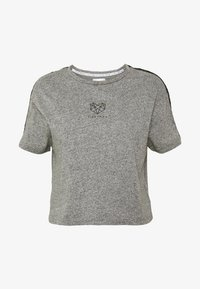 Pink Soda - BILLOW TAPE - T-shirts med print - mid grey grindle - 4