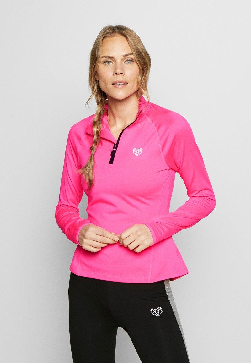 Pink Soda - ENCINO TOP - Sweatshirt - knockout pink