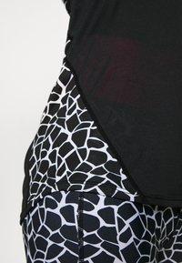 Pink Soda - DECO TANK - Treningsskjorter - black/white - 6