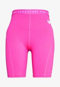 Pink Soda - MALIBU CYCLE - Tights - knockout pink - 4