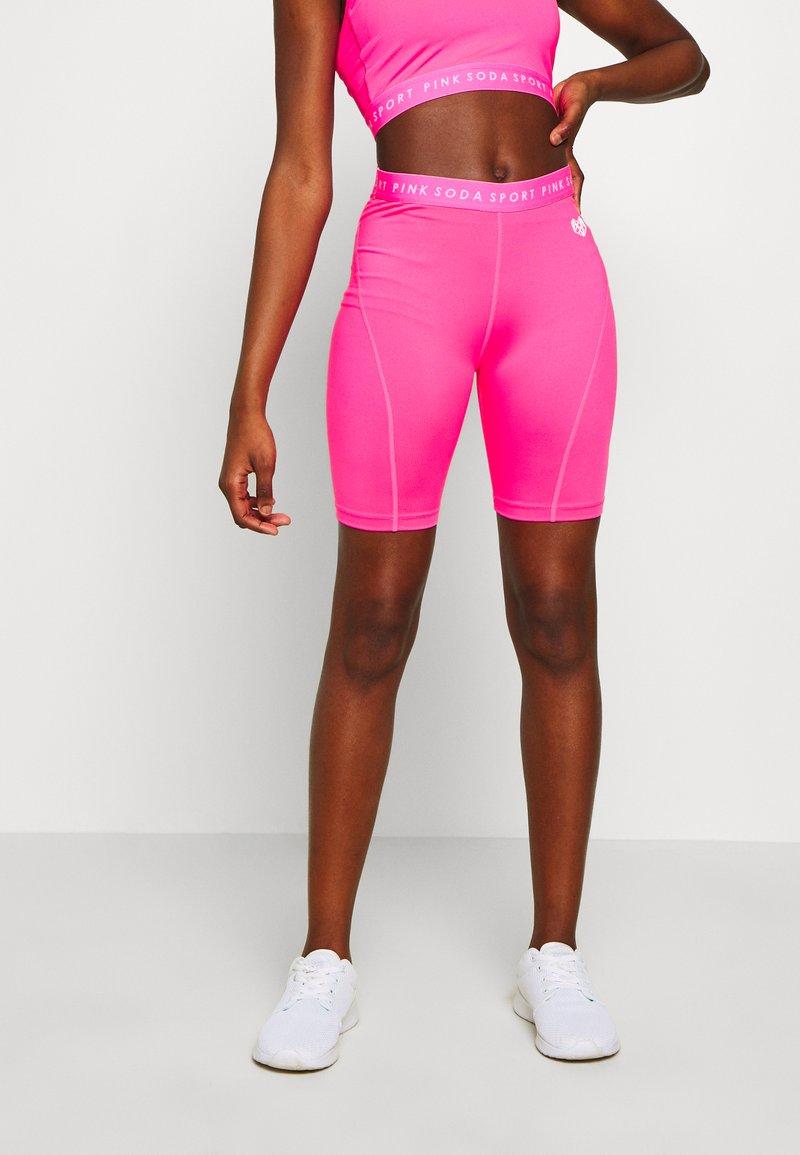 Pink Soda - MALIBU CYCLE - Tights - knockout pink