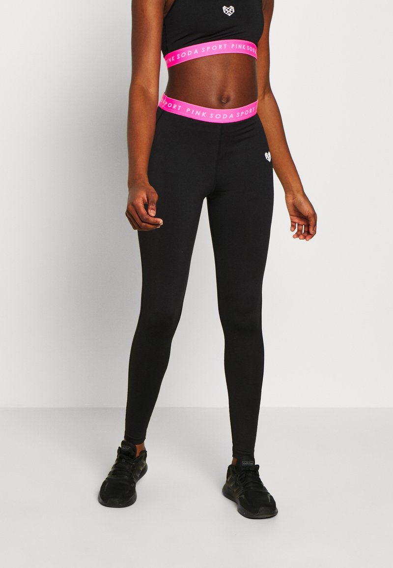 Pink Soda - KNOCKOUT TIGHT - Trikoot - black/pink
