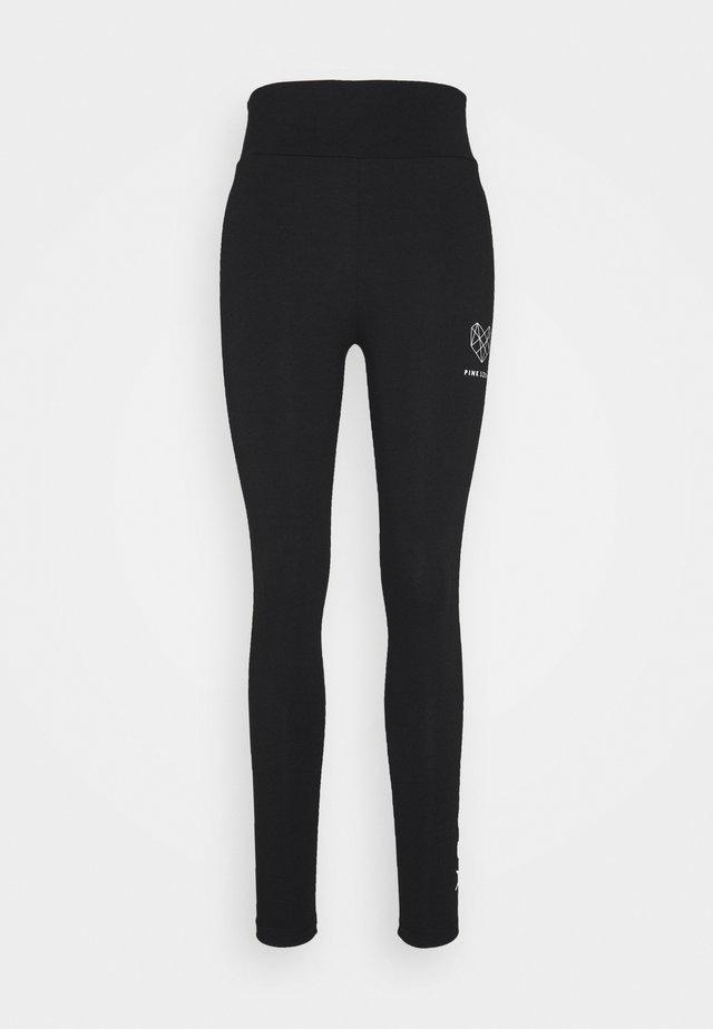 KANE LIFESTYLE LEGGING - Leggings - black/white
