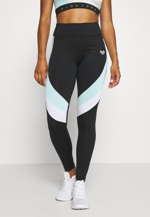 LAGOON PANEL TIGHT - Legging - mint/white/black