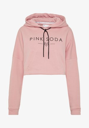 PRIMROSE HOODIE - Huppari - soft pink