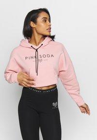 Pink Soda - PRIMROSE HOODIE - Hoodie - soft pink - 0