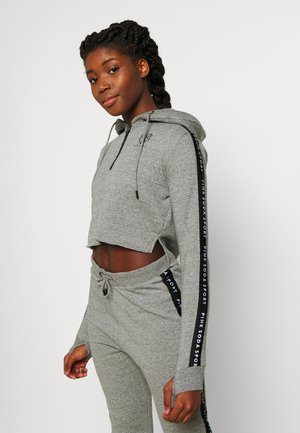 BILLOW ZIP - Hoodie - mid grey grindle