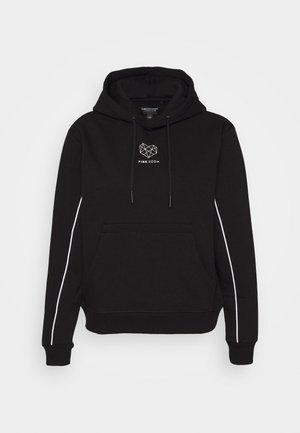 KANE BOYFRIEND HOODIE - Sweatshirt - black/white