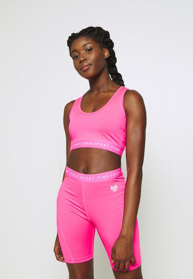 MALIBU BRA - Sports bra - knockout pink