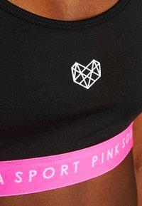 Pink Soda - KNOCKOUT BRA - Sports-BH - black/pink - 4