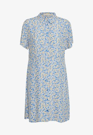 PCMONSI SHIRT DRESS PETITE - Vestido camisero - regatta