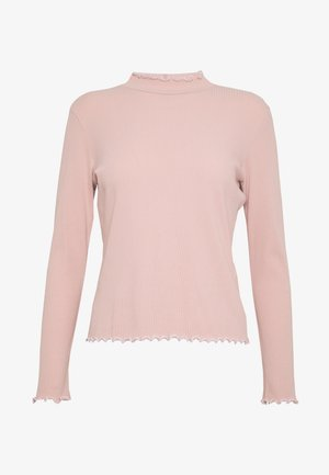 PCARDENA - T-shirt à manches longues - misty rose/white