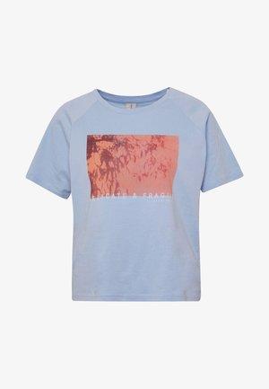 PCANALU PRINT TEE IF PETITE  - T-shirt z nadrukiem - kentucky blue