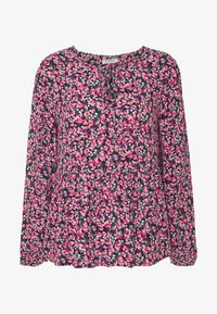 Pieces Petite - Blusa - black/flower - 3