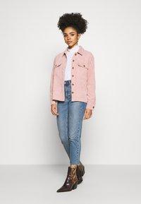 Pieces Petite - PCEFFI SHIRT - Button-down blouse - ash rose - 1
