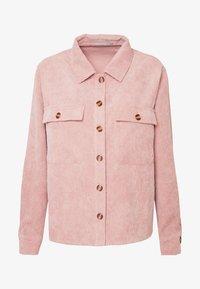 Pieces Petite - PCEFFI SHIRT - Button-down blouse - ash rose - 4