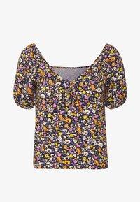 Pieces Petite - PCZANNIE - Camiseta estampada - black - 3