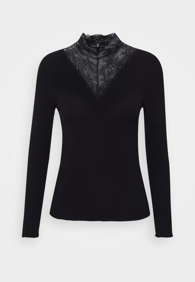PCSIRI - Pitkähihainen paita - black