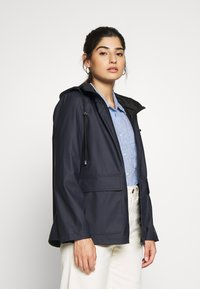Pieces Petite - PCRARNA RAIN JACKET - Impermeabile - night sky - 0