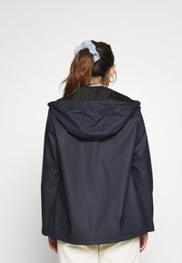 Pieces Petite - PCRARNA RAIN JACKET - Impermeabile - night sky - 2
