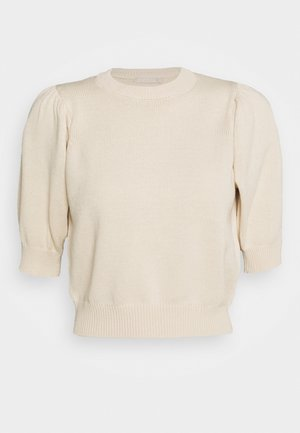 PCMASCHA ONECK - T-shirts med print - whitecap gray