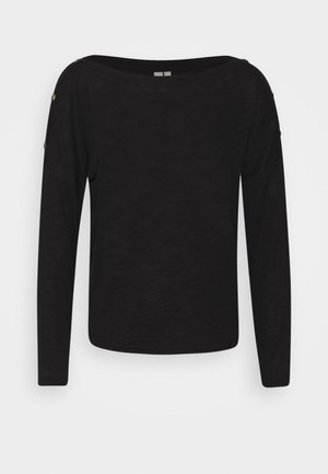 PCNOLLIE O NECK  - Jumper - black