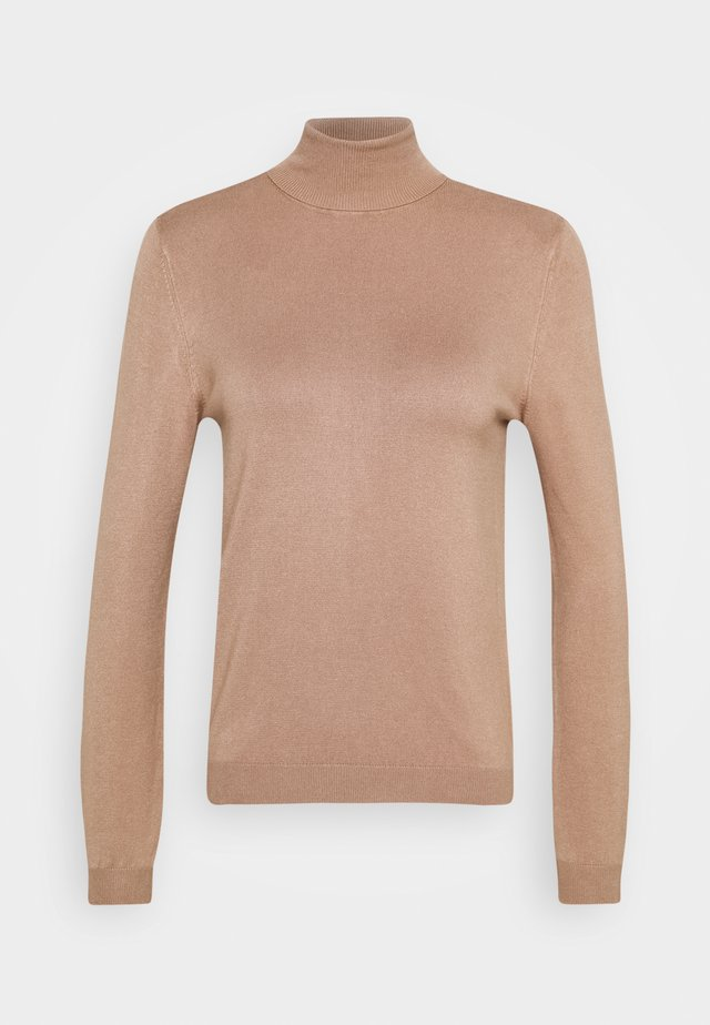 PCESERA ROLLNECK - Jumper - natural