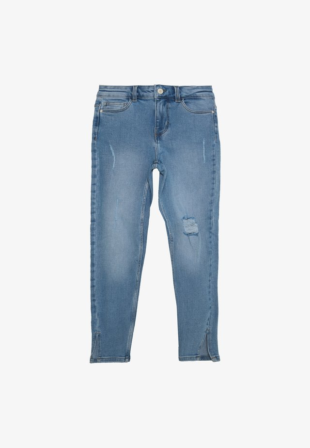KAMELIA SLIT PETIT - Jeans Skinny Fit - light blue denim