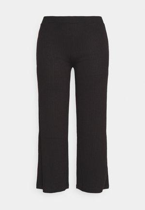 PCSIMINIA PANTS CURVE - Pantaloni - black