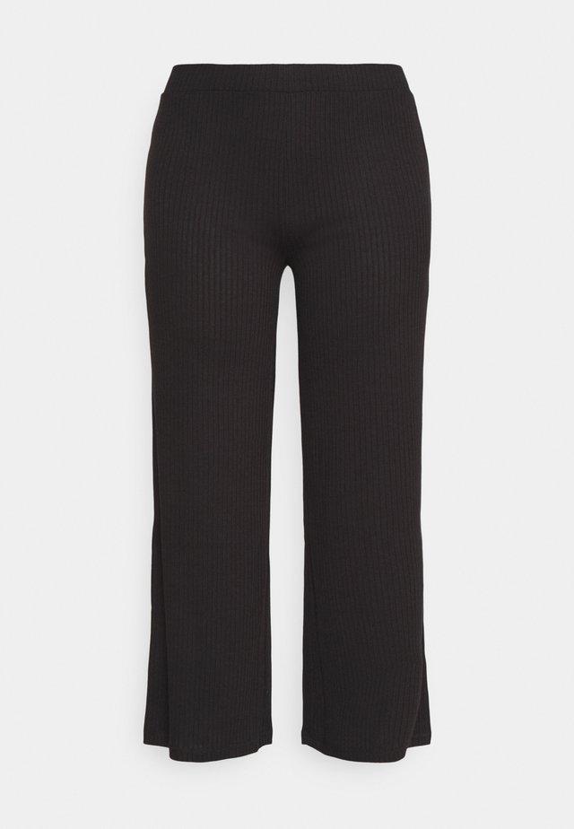 PCSIMINIA PANTS CURVE - Pantalon classique - black