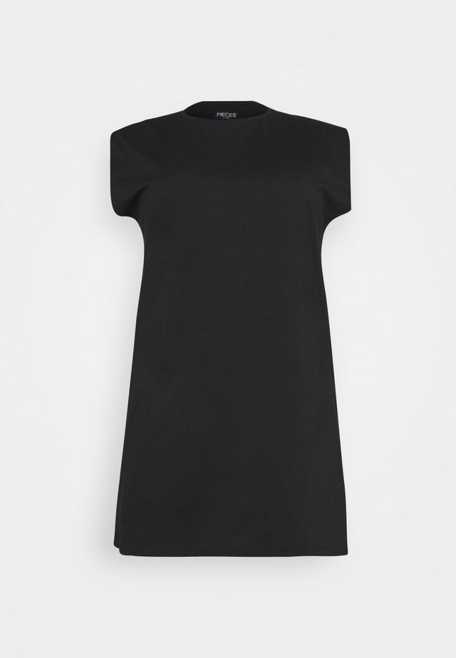 PCLIZ DRESS - Jerseyjurk - black