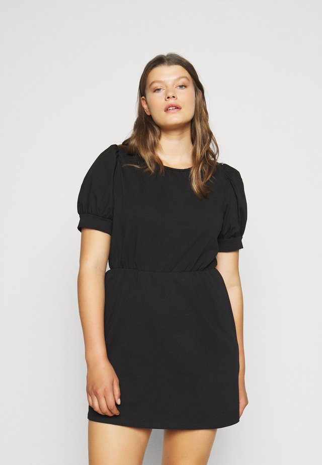PCMERVE DRESS - Korte jurk - black