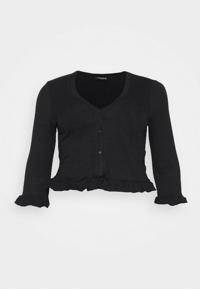 PCSANCIA - Cardigan - black