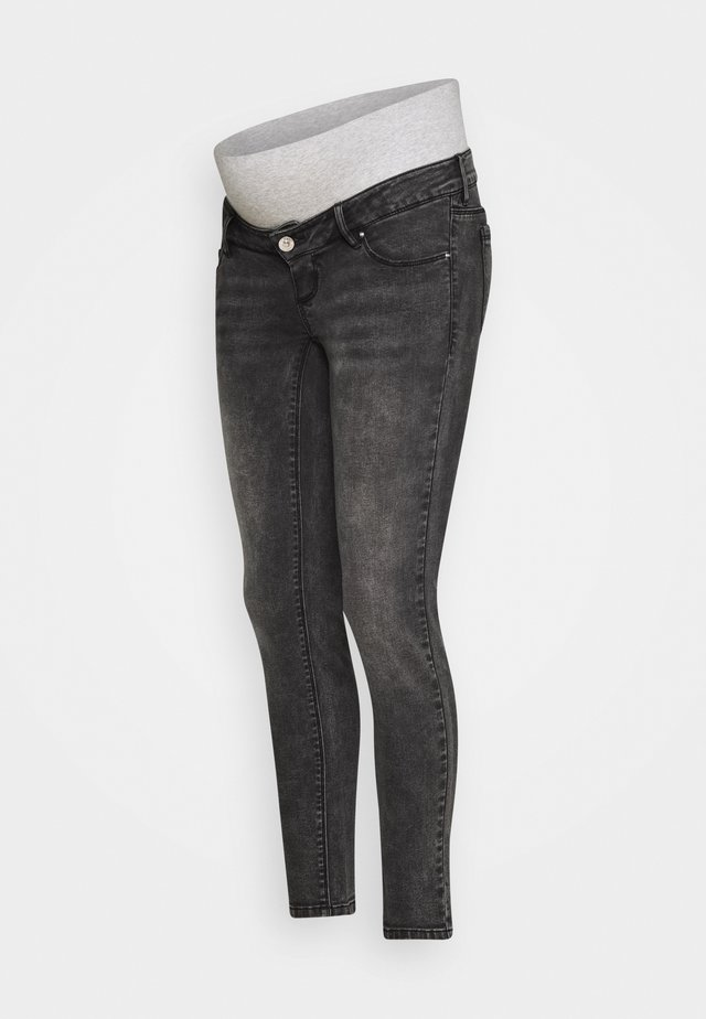 PCMLILA SLIM - Jeans Skinny Fit - medium grey denim