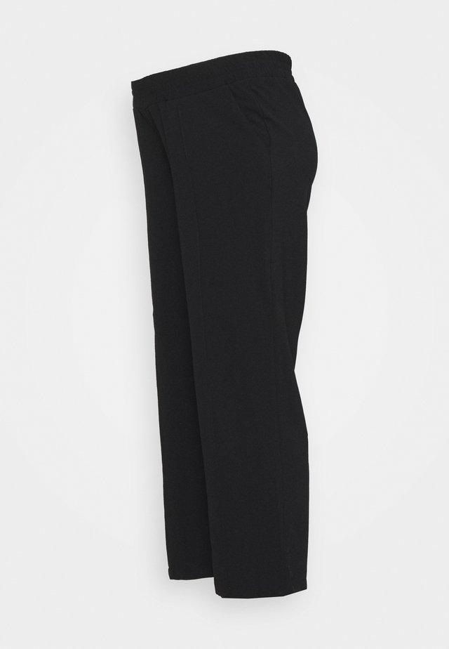PCMBELIA WIDE PANT - Broek - black