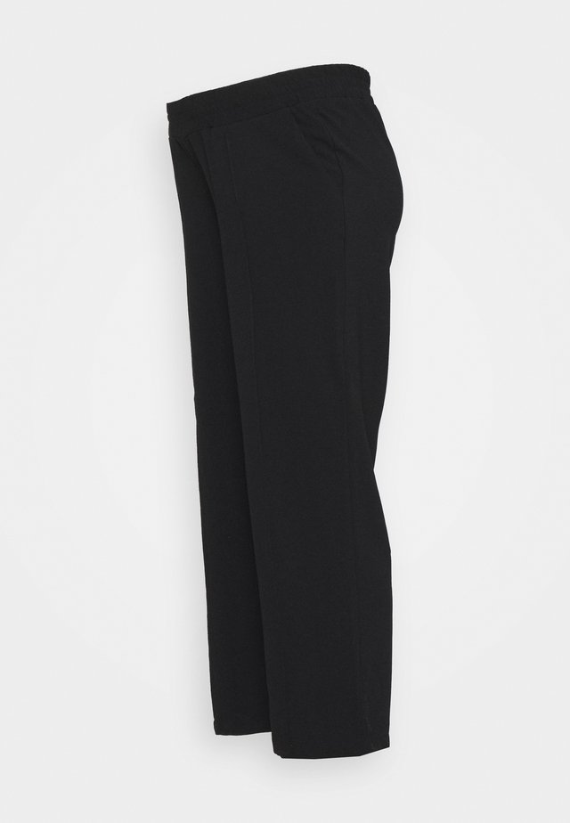 PCMBELIA WIDE PANT - Bukse - black