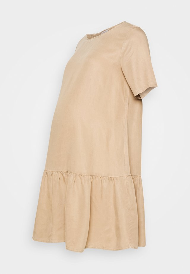 PCMWHY SITA DRESS - Robe d'été - natural