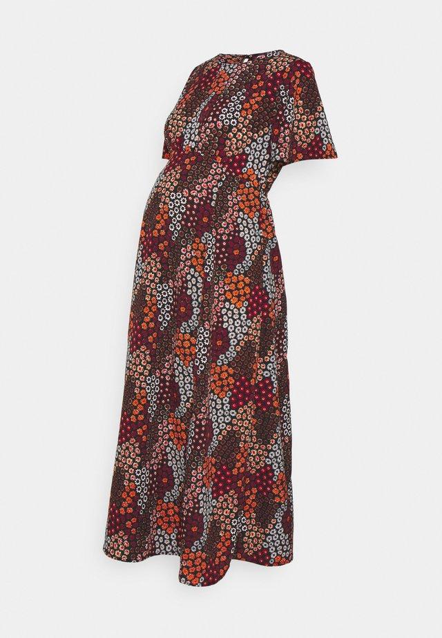 PCMBLINNA ANKLE DRESS - Robe longue - burnt ochre