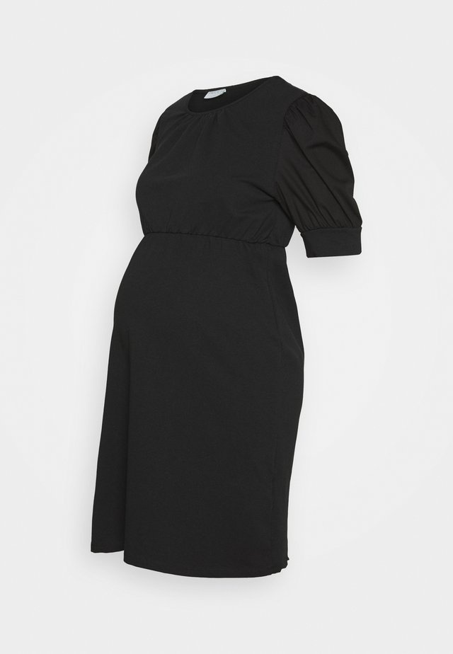 PCMMERVE DRESS - Robe en jersey - black
