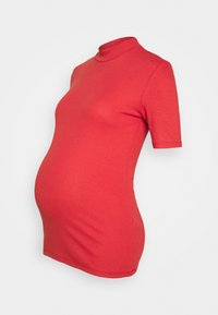 Pieces Maternity - PCMBIRDIE T NECK - T-shirt basic - baked apple - 0