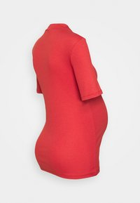 Pieces Maternity - PCMBIRDIE T NECK - T-shirt basic - baked apple - 1