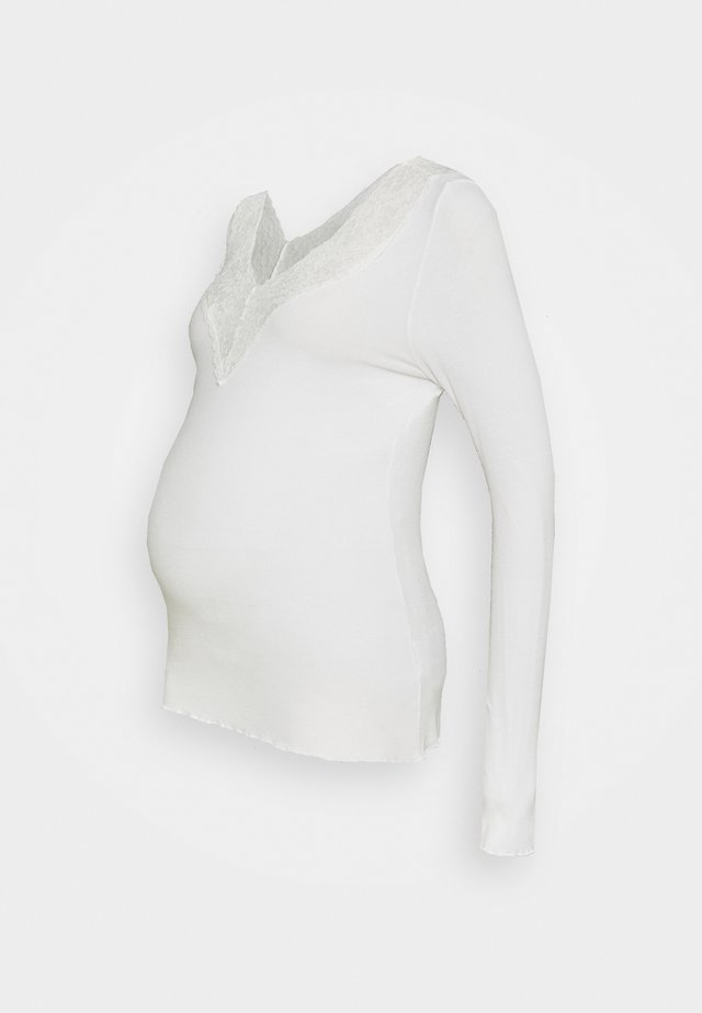 PCMSIRI - Long sleeved top - bright white