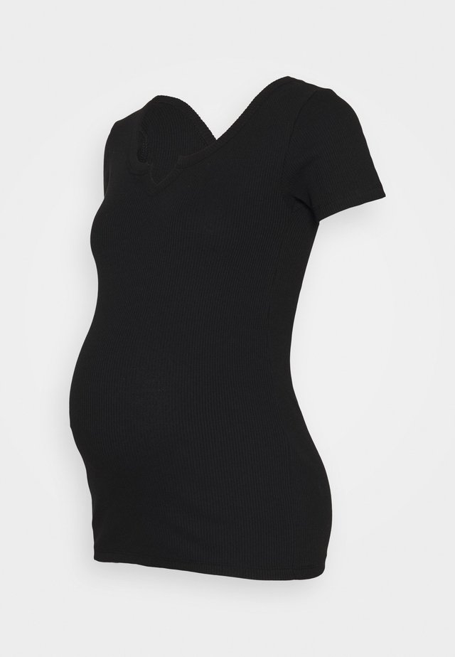 PCMBANO  - T-shirts print - black