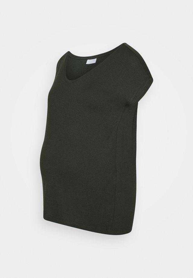 PCMBILLO TEE SOLID - T-shirts - duffel bag