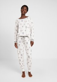 PJ Salvage - SET - Pyjama - off-white - 0